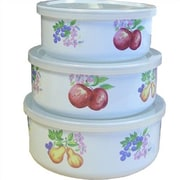 Corelle Chutney 3 Container Food Storage Set