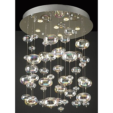 PLC Lighting Bubbles 6-Light Pendant