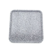 Buffet Enhancements Chefstone Serving Tray; Grey Granite