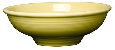 Fiesta Pedestal Serving Bowl; Sunflower