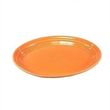 Fiesta Oval Platter; Tangerine