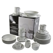 Ten Strawberry Street Round 45 Piece Dinnerware Set