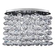 PLC Lighting Bubbles 12-Light Cascade Pendant; 26'' H x 34'' W x 20'' D