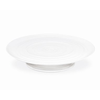 Portmeirion Sophie Conran White Footed Cake Plate Platter