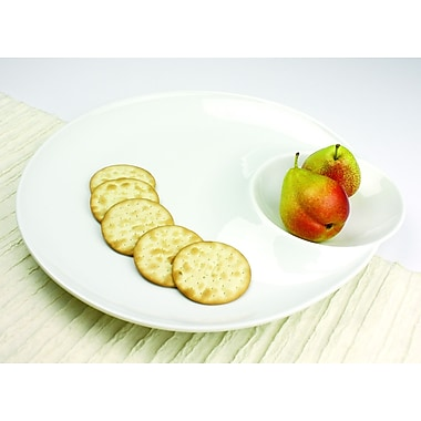 Omniware Entertainment Serveware Modern Clam shell Platter
