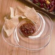 William Bounds Grainware Necessities Swirl Divided Serving Dish; 15''