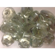 The Outdoor GreatRoom Company Large Glass Gems; Clear Diamond