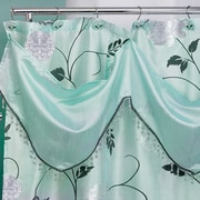 Popular Bath Products Avantie Shower Curtain; Aqua