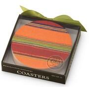 Boston International Habanera Heavy Paper Coasters (12 Pack)
