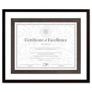 DAX MANUFACTURING INC. Upper West Side Float Wood Frame Certificate