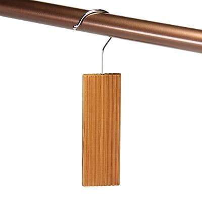 Household Essentials Cedar Hang Up w/ Hook (Set of 6)