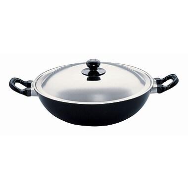 Futura Non-Stick Frying Pan w/ Lid; 12'' Diameter