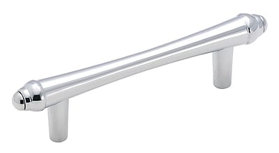 Amerock Divinity 3'' Center Bar Pull; Polished Chrome