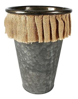 Blossom Bucket Tin Pot Planter