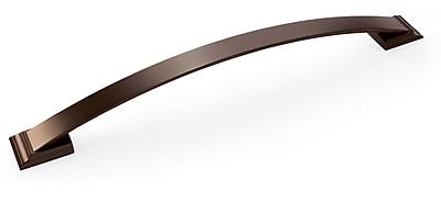 Amerock Candler 3'' Center Arch Pull; Caramel Bronze