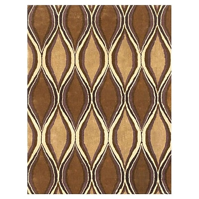 MOTI Rugs Chelsea Brown Rug; Rectangle 5' x 8'