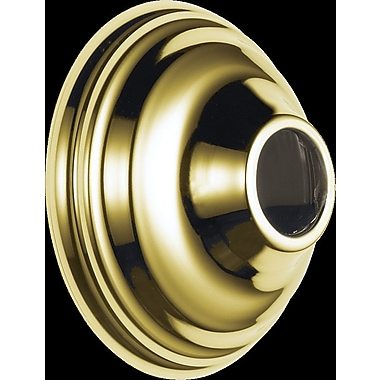 Delta Victorian Arm Flange Shower Faucet; Brilliance Polished Brass