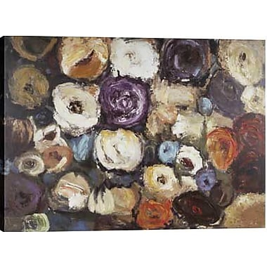 Hobbitholeco. Color Blossoms by Tina O. Painting on Wrapped Canvas