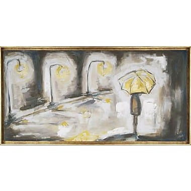 Hobbitholeco. Umbrella Light by Heather Sinnott Framed Painting on Wrapped Canvas