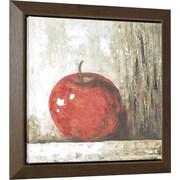 Hobbitholeco. Apple by Tina O. Framed Painting