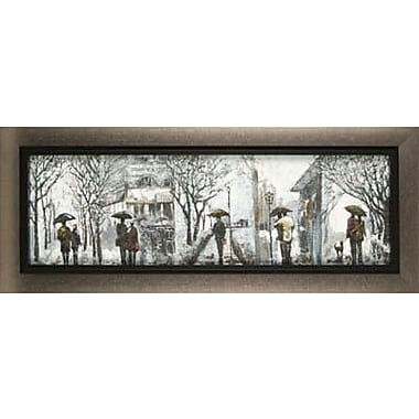 Hobbitholeco. Outdoor Walk by Anastasia C. Framed Painting Print