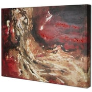 Hobbitholeco. Red Abstract I by Tina O. Painting on Wrapped Canvas