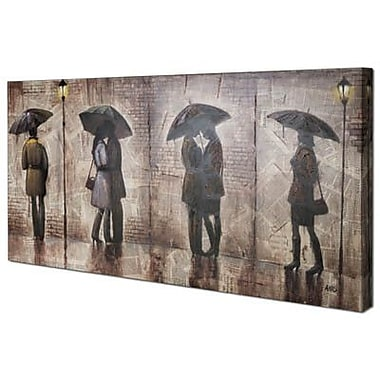 Hobbitholeco. Midnight Stroll by Anastasia C. Painting on Wrapped Canvas