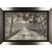 Hobbitholeco. Walk in the Park by Tina O. Framed Painting Print