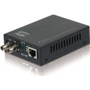 LevelOne® 10/100Base-TX to 100Base-FX MMF ST 2Km Mini Media Converter