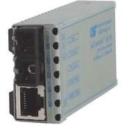 Omnitron miConverter 10/100 SC Multimode 5 Km US AC Powered Ethernet Media Converter