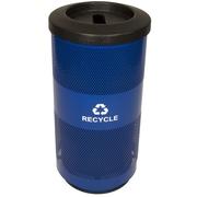 Witt Metal Recycling 20 Gallon Recycling Bin; Slot