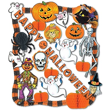Halloween Decorating Kit, Assorted sizes