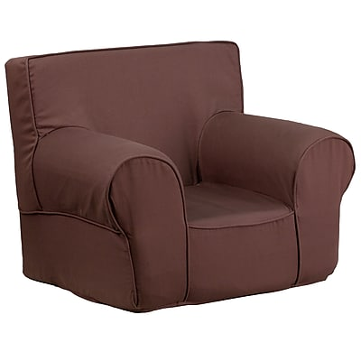 Flash Furniture Wood Sofas, Brown (DGCHKIDSOLIDBN)