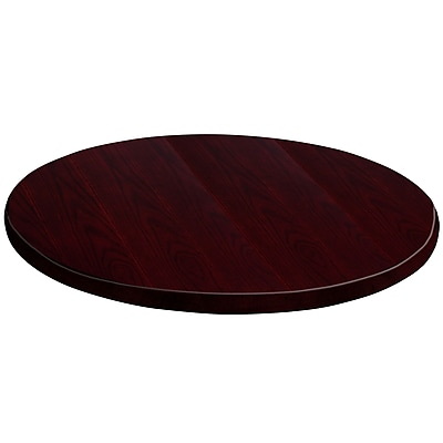 Flash Furniture 24'' Round Medium Density Fiberboard Table Top, Mahogany (GMMAHVEN24RD)