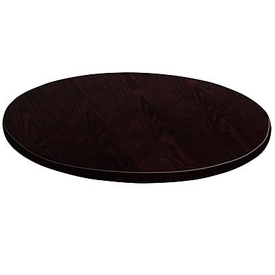 Flash Furniture 24'' Round Medium Density Fiberboard Table Top, Walnut (GMWALVEN24RD)