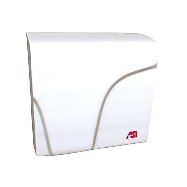 ASI Profile Hand Dryer, White
