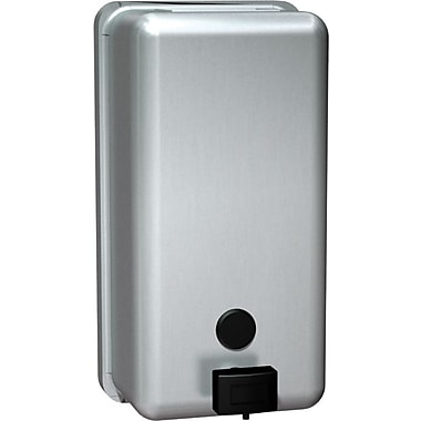 ASI Vertical Soap Dispenser, Stainless Steel