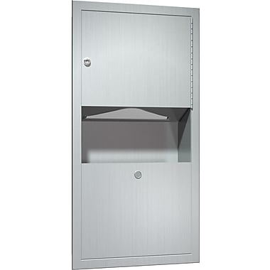 ASI Recessed Paper Towel Dispenser and Waste Receptacle (0462-AD)
