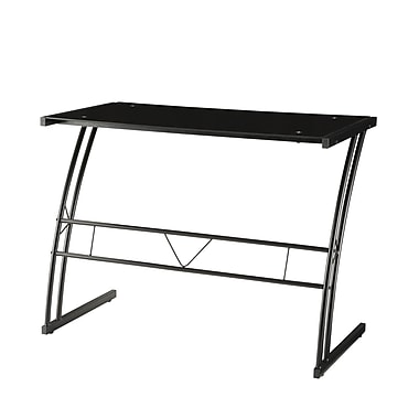COASTER Casual Writing Desk, Black (800906)