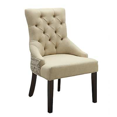 COASTER Armless Accent Chair, Beige, Set (902171)
