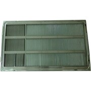 "LG Stamped Aluminum Rear Architectural Grille For 26"" Wall Sleeve Thru-the-Wall Air Conditioner"