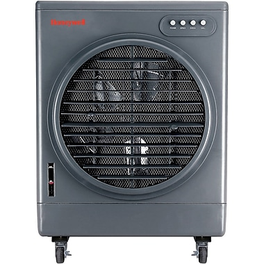Honeywell® CO25MM 52 Pint Wide Mouth Indoor/Outdoor Commercial Evaporative Air Cooler, Gray