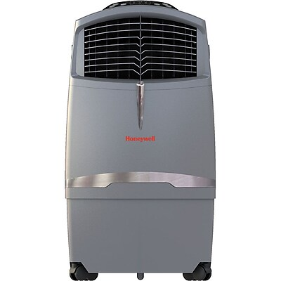 Honeywell® CO30XE 63 Pint Indoor/Outdoor Portable Evaporative Air Cooler With Remote Control, Gray