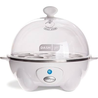 Storebound® Dash™ Rapid 6-Egg Cooker, White