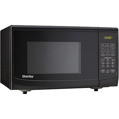 Danby® 0.7 cu.ft. 700 W Countertop Microwave Oven, Black