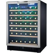 Danby® Designer DWC508 5.3 cu.ft. Built-In Wine Cooler, Black/Stainless Steel