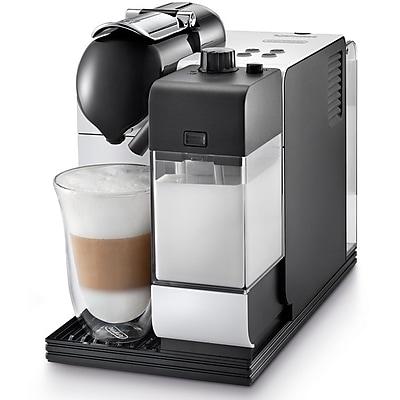 Delonghi® Nespresso® Lattissima+ EN520 Capsule Espresso/Cappuccino Machine, White