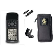 "Garmin® 6.2"" x 2.7"" x 1.2"" Handheld GPS Receiver Bundle, Black"