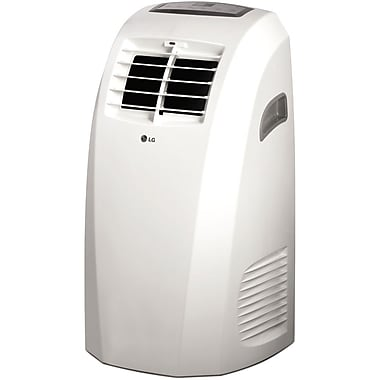 LG LP1014WNR 10000 BTU Portable Air Conditioner With Remote Control, White