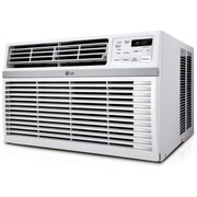 LG LW8014ER Energy Star 8000 BTU Window-Mounted Air Conditioner With Remote Control, White